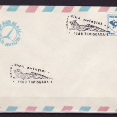 ROMANIA - PLIC OCAZIONAL, ZIUA AVIATIEI, TIMISOARA 1900 - Timbre Romania