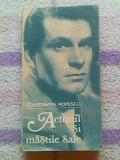 Actorul si maștile sale-Laurence Oliver in teatru si film-Constantin Popescu, Alta editura