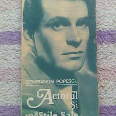 Actorul si maștile sale-Laurence Oliver in teatru si film-Constantin Popescu - Biografie