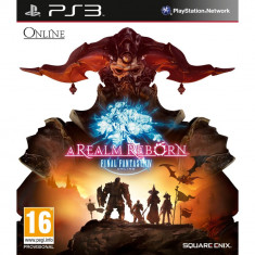 Final Fantasy XIV: A Realm Reborn PS 3 - Jocuri PS3 Square Enix, Role playing, 16+, MMO