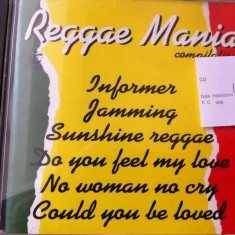 Reggae mania compilation hits disc cd muzica reggae ed vest compilatie hituri