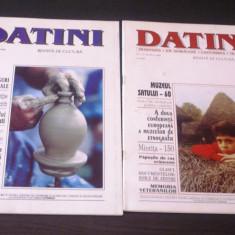 REVISTA DATINI - folclor, obiceiuri, traditii, sarbatori populare, arta populara - Carte folclor