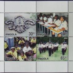 ANGOLA 2007 - SCUTISM, 1 M/SH NEOBLITERATA - PP 766