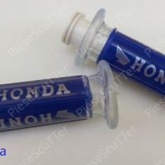 Set Mansoane ( Honda SILICON ) universale Moto - Scuter - ATV ( Honda M1 ) - Mansoane Moto