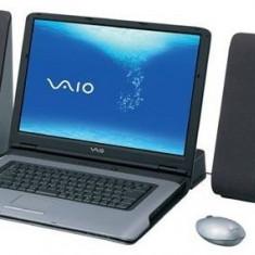 Laptop Sony Vaio VGN-A417S, docking station, TV Tuner, telecomanda si boxe, Intel Pentium M, 100 GB, Windows XP