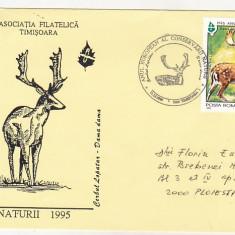 Bnk fil Plic ocazional Anul european al conservarii naturii Timisoara 1995
