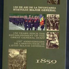 ROMANIA 5 LEI 2009 150 ani - Infiin STATULUI MAJOR GENERAL, ARGINT, PROOF - Moneda Romania