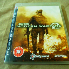 Joc Call of Duty Modern Warfare 2, PS3, original, alte sute de jocuri! - Jocuri PS3 Activision, Shooting, 18+, Single player