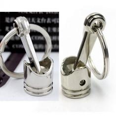 Breloc chei in forma de PISTON metal + ambalaj  cadou