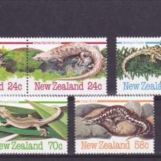 Fauna ,serpi,soparle,Noua Zelanda., Nestampilat