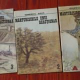 Marturisirile unui reactionar de Ionescu Sava - volumele 1-3 / anul 1990 ! - Roman