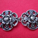 Splendida si Veche Catarama Curea Vintage Art Nouveau lucrata manual Finuta