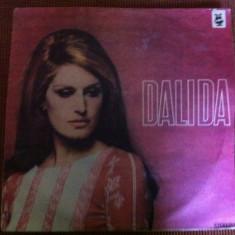 DALIDA DISC VINIL LP MUZICA usoara POP SLAGARE hituri ANII 60 70 ELECTRECORD - Muzica Pop