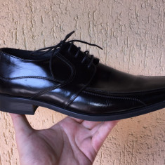 Pantofi Barbati Aldo, Marime: 43, Culoare: Negru, Piele naturala