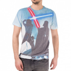 Tricou barbati Ecko Unlimited Marc Ecko Cut Sew Saber Fight #1000000007893 - Marime: S, Marime: S, Culoare: Din imagine, Maneca scurta