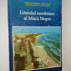Litoralul romanesc al Marii Negre – 1989 - Carte Geografie