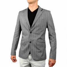 Sacou barbati Ecko Unlimited Marc Ecko Cut Sew Cotton Herringbone Blazer #1000000009767 - Marime: M, Marime: M, Culoare: Din imagine