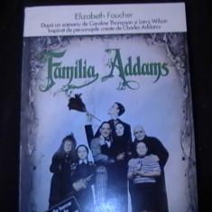 FAMILIA ADAMS-ELISABETH- FAUCHE- - Carte Horror