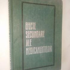 Efecte secundare ale medicamentelor – Gh. Panaitescu – 1970 - Carte Farmacologie
