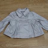 Jacheta fetite 2 ani - 86 cm, Culoare: Gri, Fete