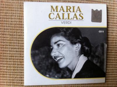 maria callas verdi disc cd vol 5 muzica clasica opera culta foto