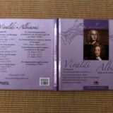 Vivaldi Albinoni disc cd muzica culta clasica volumul 5 carte booklet info