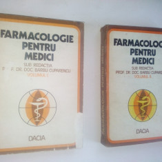 Farmacologie pentru medici – ( vol. I si  vol. II) – 1978