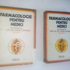 Farmacologie pentru medici – ( vol. I si vol. II) – 1978 - Carte Farmacologie