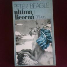 Peter Beagle Ultima licorna - Roman, Anul publicarii: 1977
