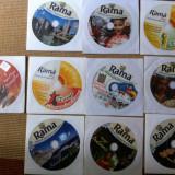 Rama lot 10 cd disc volume colectie muzica din lume latino pop sarbatori slagare