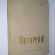Ortopedie – Al. Varna – 1965 - Carte Ortopedie