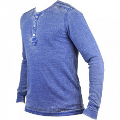 Bluza barbati Ecko Unlimited Marc Ecko Cut Sew Blrnout Thermal Henley #1000000008043 - Marime: M, Marime: M, Culoare: Din imagine
