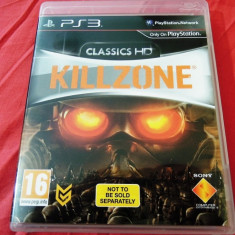 Joc Killzone classics HD PS3, original, alte sute de jocuri! - Jocuri PS3 Sony, Shooting, 16+, Single player