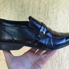 Pantofi barbati Aldo, Marime: 44, Culoare: Negru, Piele naturala