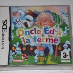 Joc consola Nintendo DS - Oncle Ed a la ferme - sigilat - nou - Jocuri Nintendo DS Altele, Actiune, Toate varstele, Single player