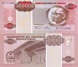 ANGOLA 500.000 kwanzas reajustados 1995 UNC!!!