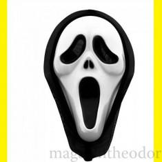 MASCA SCARY MOVIE/ MASCA DARKMAN/ MASCA HALLOWEEN - Masca carnaval, Marime: Marime universala, Culoare: Alb