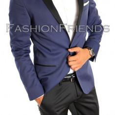 Costum tip ZARA - sacou + pantaloni - costum barbati Evenimente - 4925, Marime: 52, Culoare: Din imagine
