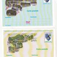 Bnk cp Set 2 carti postale necirculate Slanic Moldova - Carte Postala Moldova dupa 1918, Necirculata, Printata