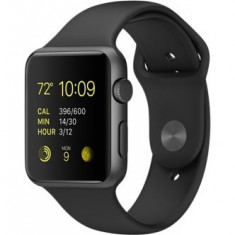 Apple Watch Sport 42mm Space Grey | Se aduce la comanda, livrare cca 10 zile | Aducem la comanda orice produs Apple din SUA - a60608 - Smartwatch Apple, Aluminiu, Gri