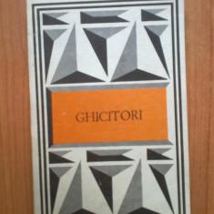 B1a Ghicitori - Editie ingrijita de Radu Niculescu - Carte cu ghicitori pentru copii