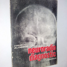 Neuroradio diagnostic – Corneliu Aldescu - 1982 ( vol. I) Craniul si continut - Carte Diagnostic si tratament