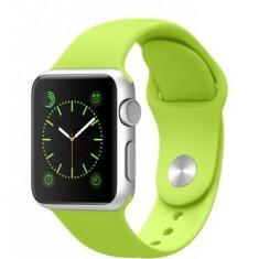 Apple Watch 38mm Aluminum Case Green | Se aduce la comanda, livrare cca 10 zile | Aducem la comanda orice produs Apple din SUA - a60608 - Smartwatch Apple, Aluminiu, Argintiu
