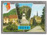 % carte postala (MARCA FIXA)-DEVA, Circulata, Fotografie
