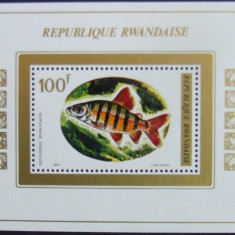 RWANDA 1973 - PESTI 1 S/S, NEOBLITERATA - RW 054A