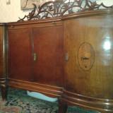 Mobila antica din lemn de nuc, Comode si bufete, Ludovic, 1800 - 1899