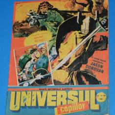 UNIVERSUL COPIILOR -1991 - 17-18 - APROAPE 8 PAGINI DE BENZI DESENATE
