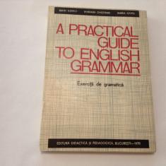 A PRACTICAL GUIDE TO ENGLISH GRAMMAR de EDITH ILOVICI..R11