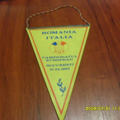 fanion  Romania  -  Italia