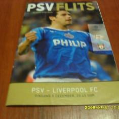 program   PSV  Eindhoven  -  Liverpool